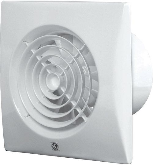 badk.ventilator silent 100 s&p +hygrost | desco.be