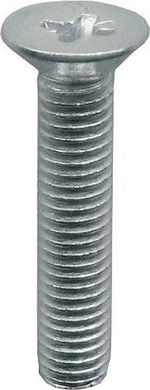 METAALSCHR.VZK-KR.  DIN 965 INOX  M 5-80