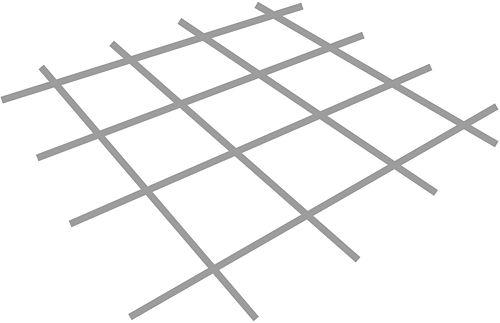 STAALNET VERZINKT 1,2-2,1M 2,2M² 20X20