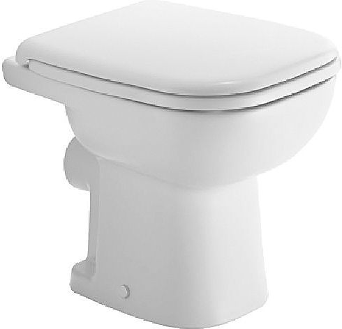 WC POT D-CODE DURAVIT H 185 WIT