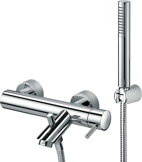MITIGEUR BAIN LIGHT CHROME COMPLET