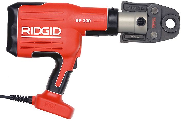 PINCE A SERT.+COFFR.RIDGID RP330C 230V