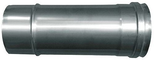 CONDUIT INOX REZNOR L=20CM DIAM. 100MM
