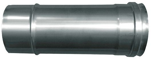 CONDUIT INOX REZNOR L=20CM DIAM. 80MM