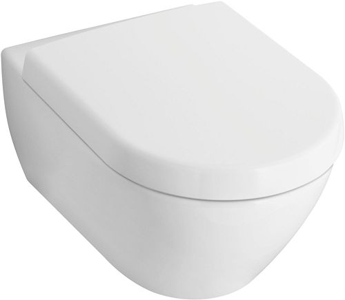 WC SUSPENDU COMPACT SUBWAY 2.0 V&B BLANC