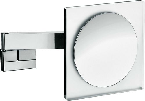 MIROIR GROSSISS.EMCO 2BRAS +ECL.LED CHR