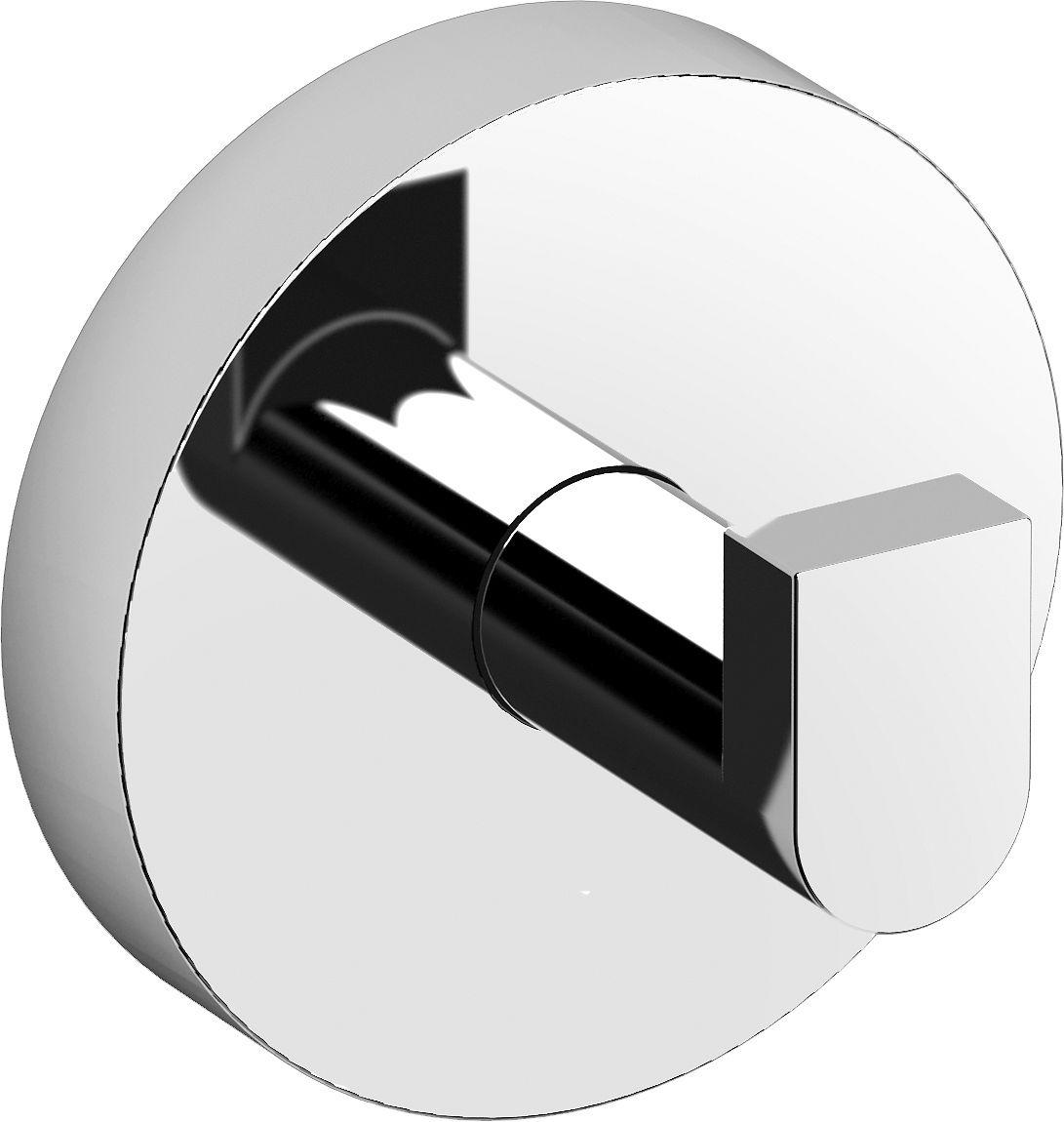 SET (2PCS)PORTE-MANTEAU FLAT CLOU CHROME