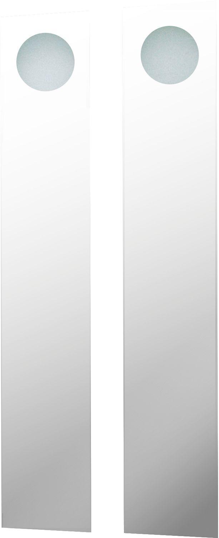 MIROIR+ECLAIRAGE SIMPLE CLOU 180X30CM