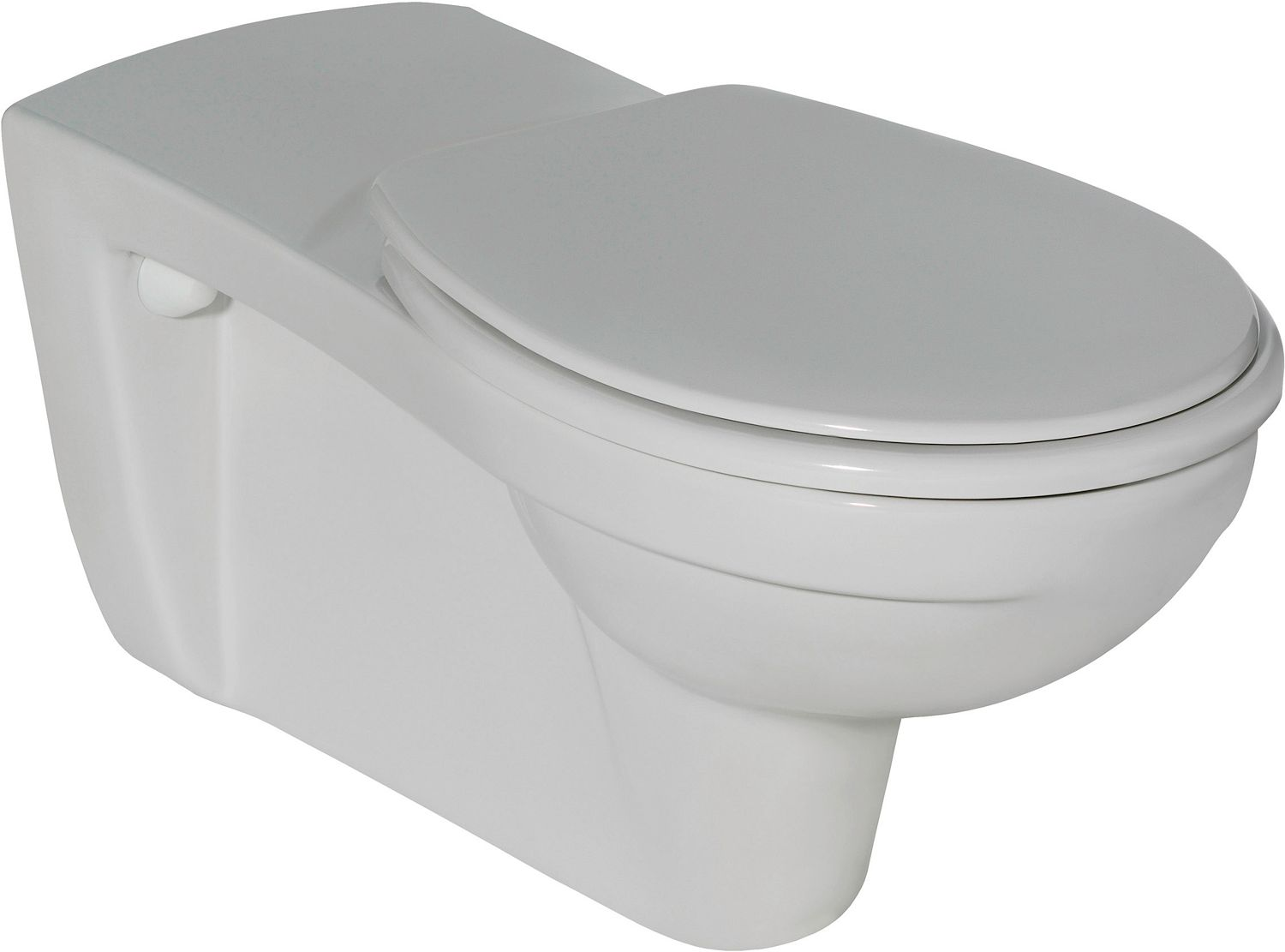 WC SUSPENDU PMR CONTOUR 21 IS BLANC