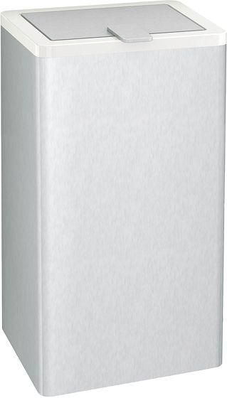 AFVALEMMER HEWI 805 6 LITER WIT-INOX