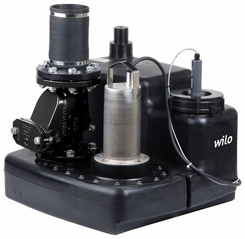 OPVOERINSTALL.DRAINLIFT M 1/8 WILO 400V