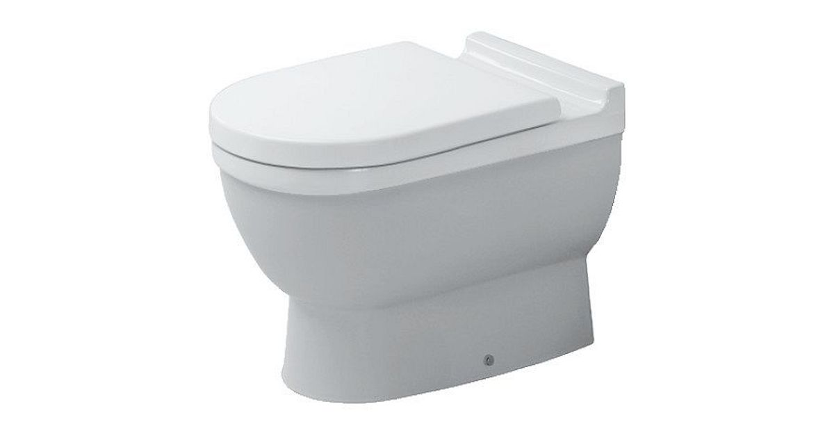 Staande Wc Pot : Wc pot starck duravit h wit desco be