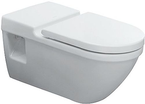 WC SUSPENDU ALLONGE DURAVIT STARCK 3 BL