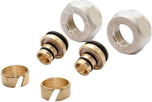 "SET(2ST)KNELKOP.HONEY.ALUP.3/4""EK-16X2MM"
