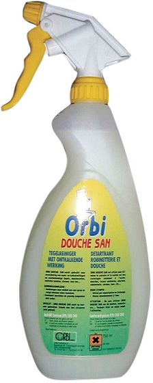 ONTKALKER V.DOUCHE+TEGEL SPRAY 750ML