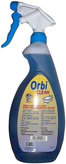 SPRAY DEGRAISSANT CLEAN VAPO ORBI 750ML