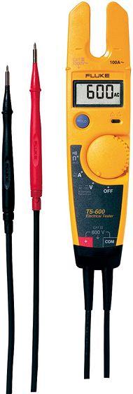 ELEKTRICITEITSTESTER FLUKE T5 600V AC/DV