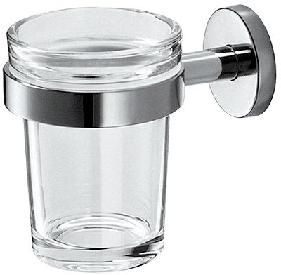 GLASHOUDER+GLAS WAND GEALUNA INDA CHROOM