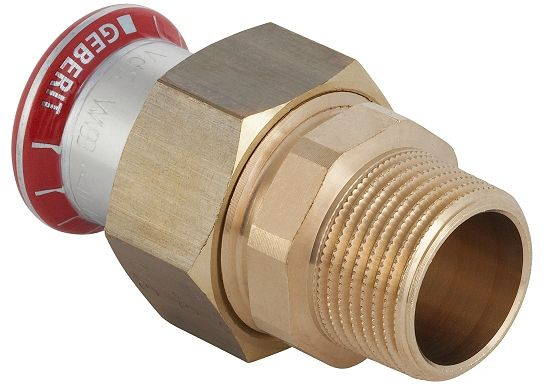 "MAPRESS RACC.ECROU GEBERIT 18MM-1/2"" M"