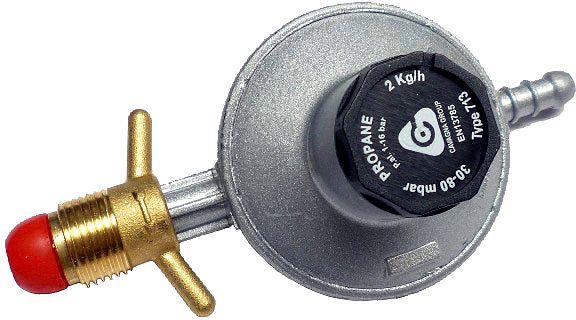 FLESREGELAAR 30-80MBAR 2KG/H POL-SLANG