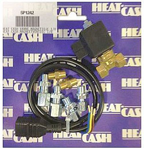 VANNE MAGNETIQUE HEAT CASH 1/8""