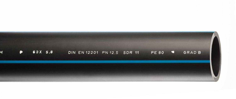 TUBE HDPE 25-2,3MM PAR METRE