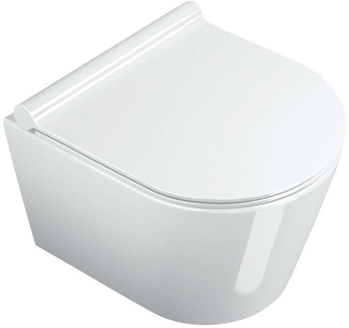 WC SUSPENDU COMPACT 45CM CATALANO BLANC