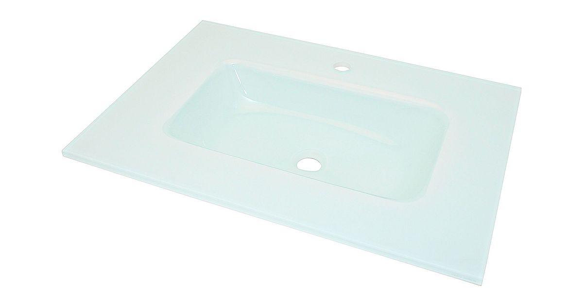 Badkamermeubel Desco ~ lavabo combo molto 90 50cmglas wit  desco be