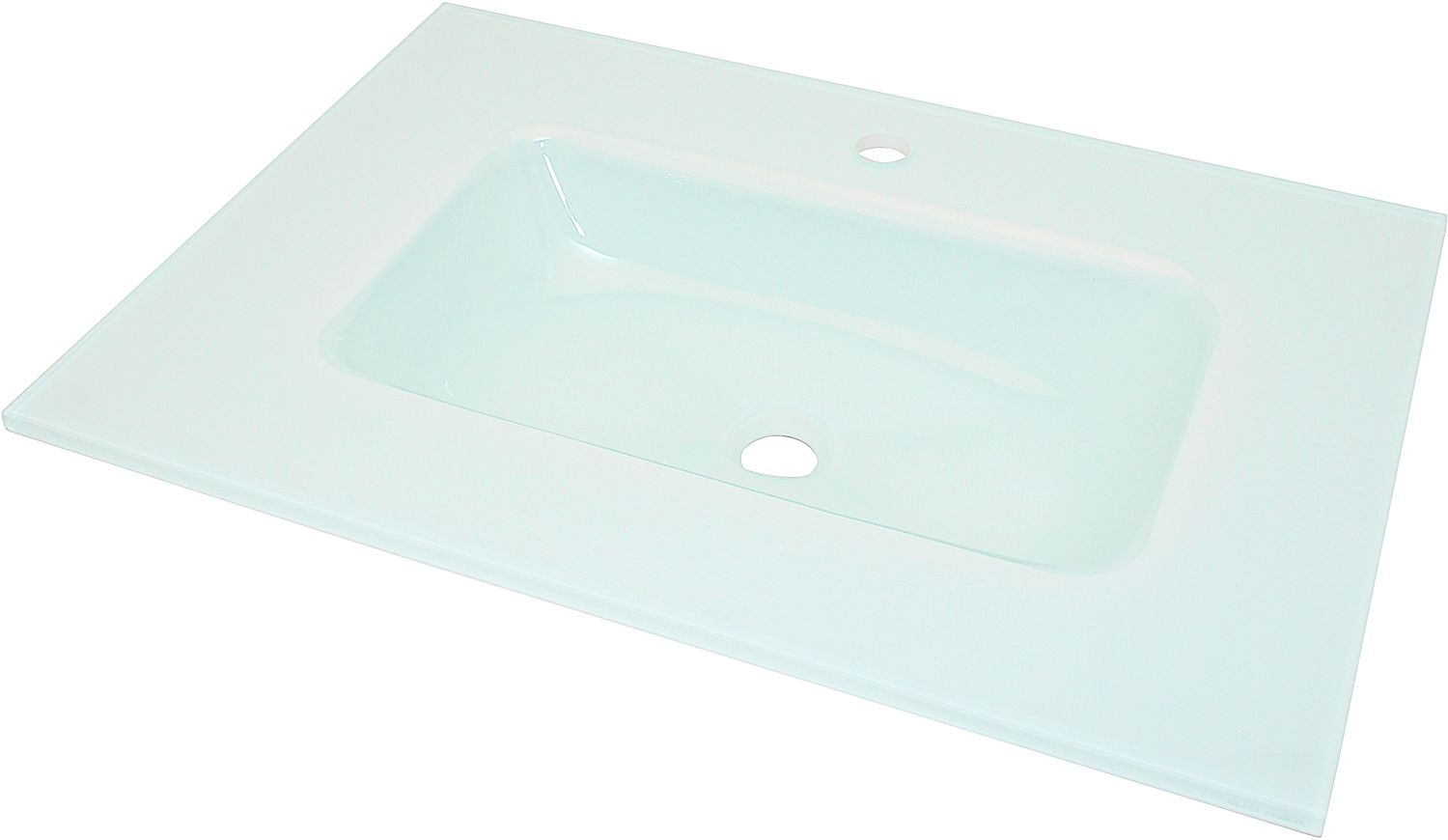 LAVABO COMBO/MOLTO 90-50CMGLAS WIT