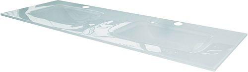 DUB. LAV. COMBO/MOLTO 140-50CM GLAS WIT