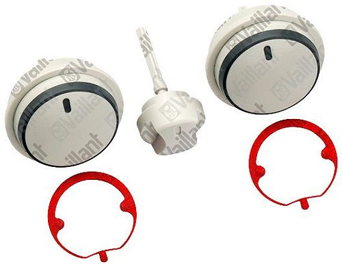 BOUTON GRIS (KIT DE 3P) VAILLANT PAR KIT