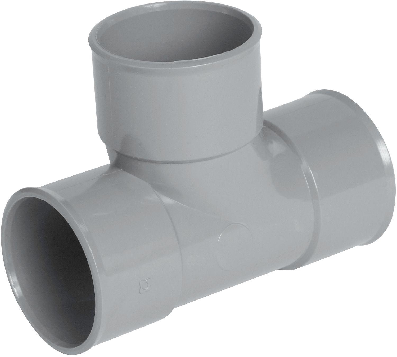 PVC GEBOGEN T FFF 90° 40MM