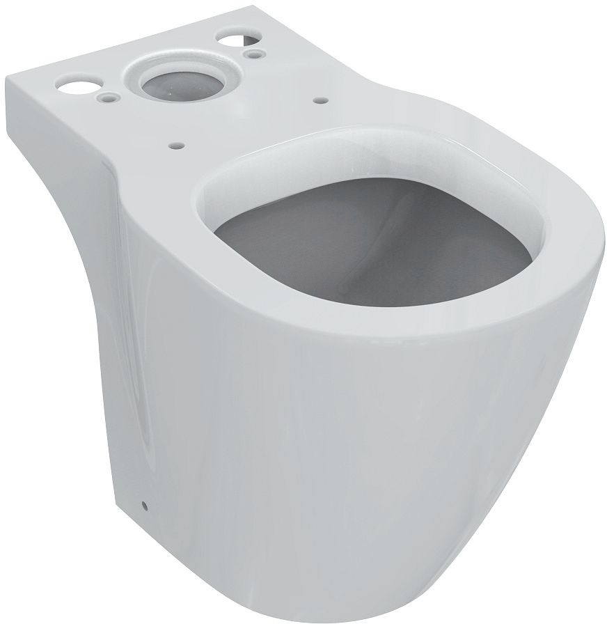 STAAND TOILET COMPACT CONNECT IS WIT