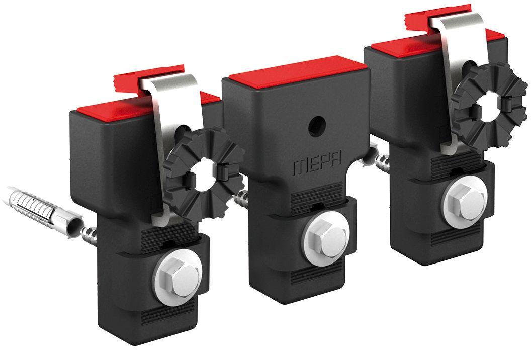 FIX.MURAL MEPA POUR BAIN 3 PCS