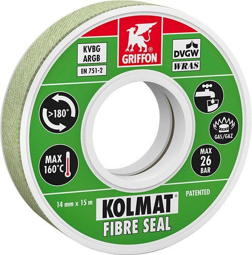 KOLMAT FIBRE SEAL ROL 14MMX15M