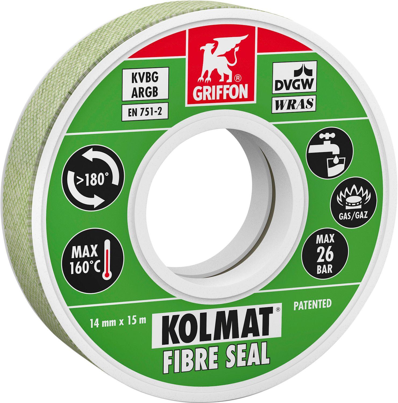 KOLMAT FIBRE SEAL ROULEAU 14MMX15M