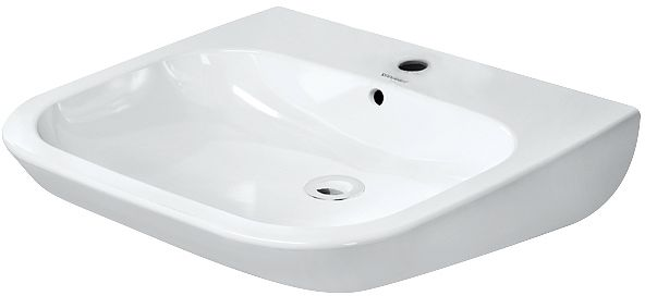 LAVABO DCODE MV DUR.M.OVERLOOP 60CM WIT