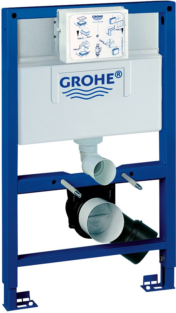 OPHANGS.WC RAP.SL GROHE FRONT/BOV.H 82CM
