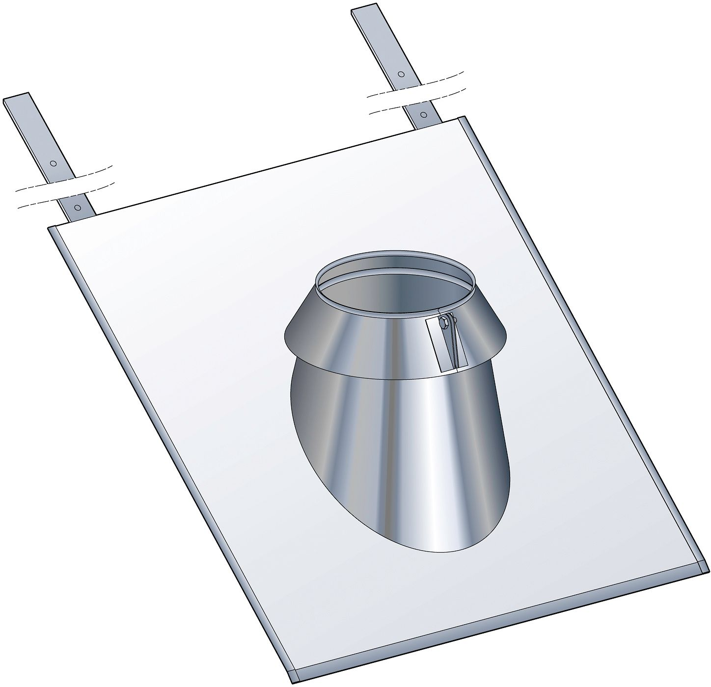 SOLIN ARDOISE 30-45° THERM-INOX POUJ.180