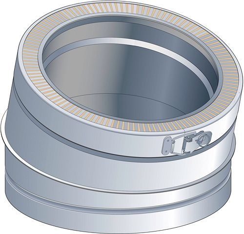 THERM-ALU BOCHT 15GR 200MM