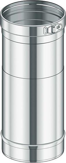 INOX ENKELW BUIS CONDEN.POUJ. 80 25-40CM