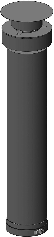 UITG.VERT.INOX MULTI+ POUJ.1M 110/160MM
