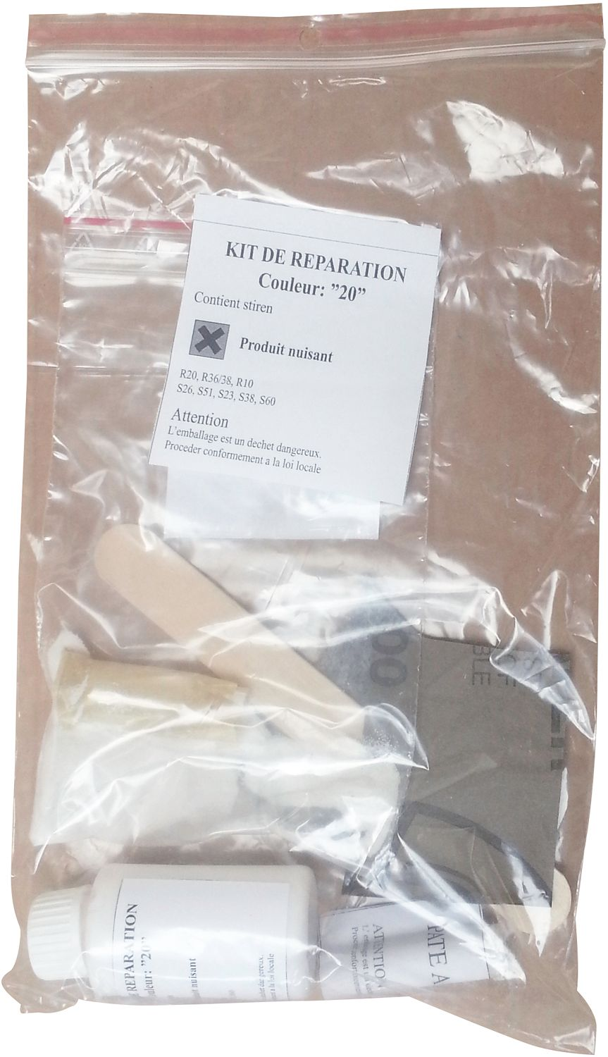 KIT DE REPARATION MARBRE SYNTHETIQUE