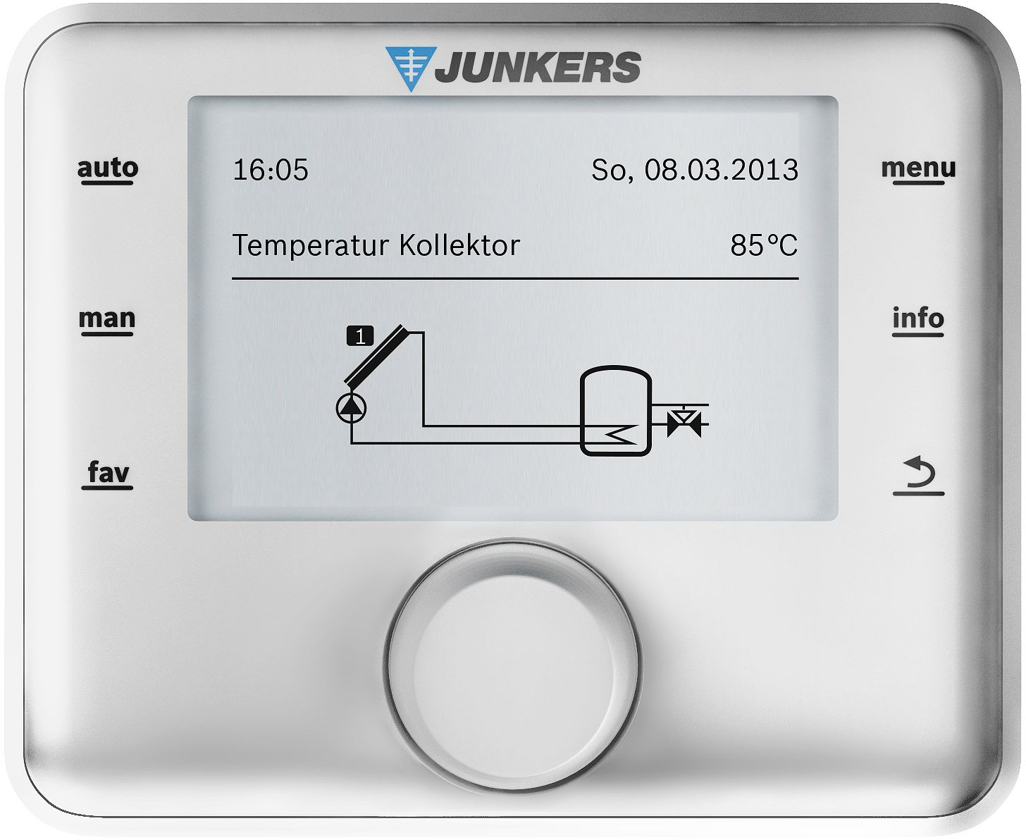 STATION SOLAIRE+REGULATION CS200 JUNKERS