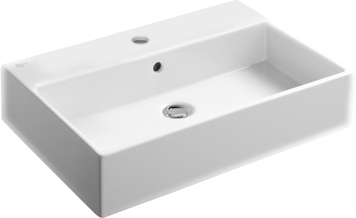 LAVABO STRADA IS 600X420+ TROU ROB.BLANC