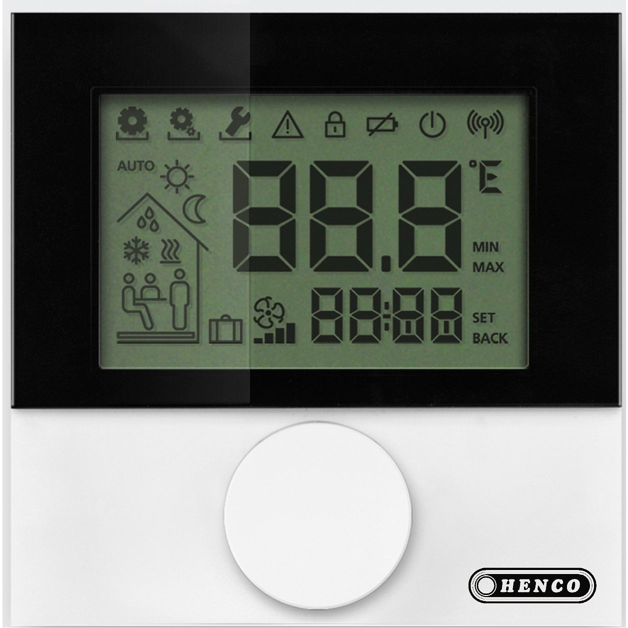 THERMOSTAT LCD POUR SONDE EXTRENE HENCO