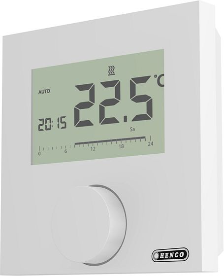 THERMOSTAT LCD COMFORT 24V HENCO