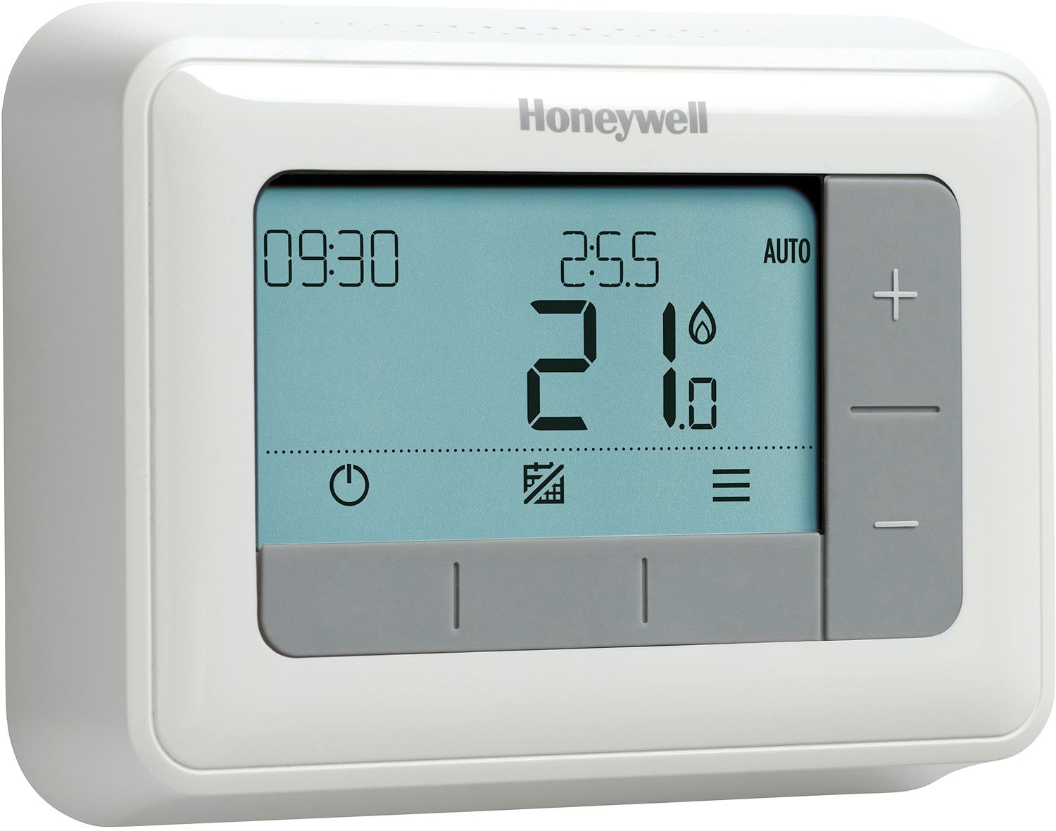 how to set a digital thermostat by honeywell