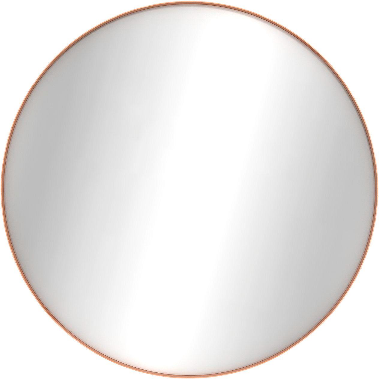 Miroir Rond Chene Ethnicraft 90cm